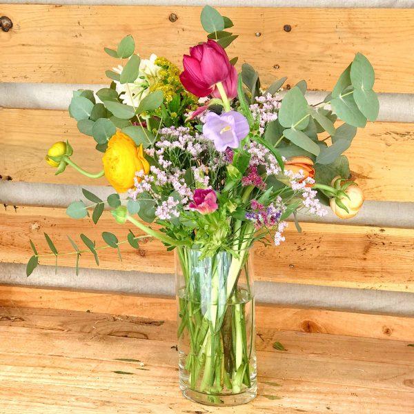 Jarrón Manet flores silvestres