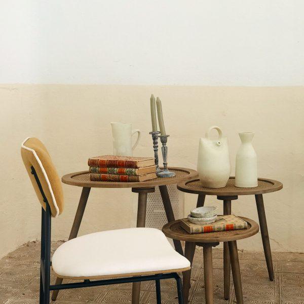 Mesas Olmo set de 3