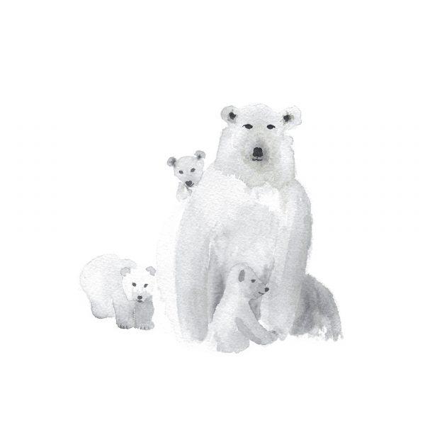 Print Osos Polares