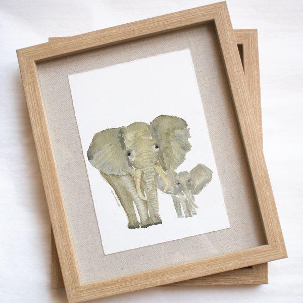 Print Elefantes