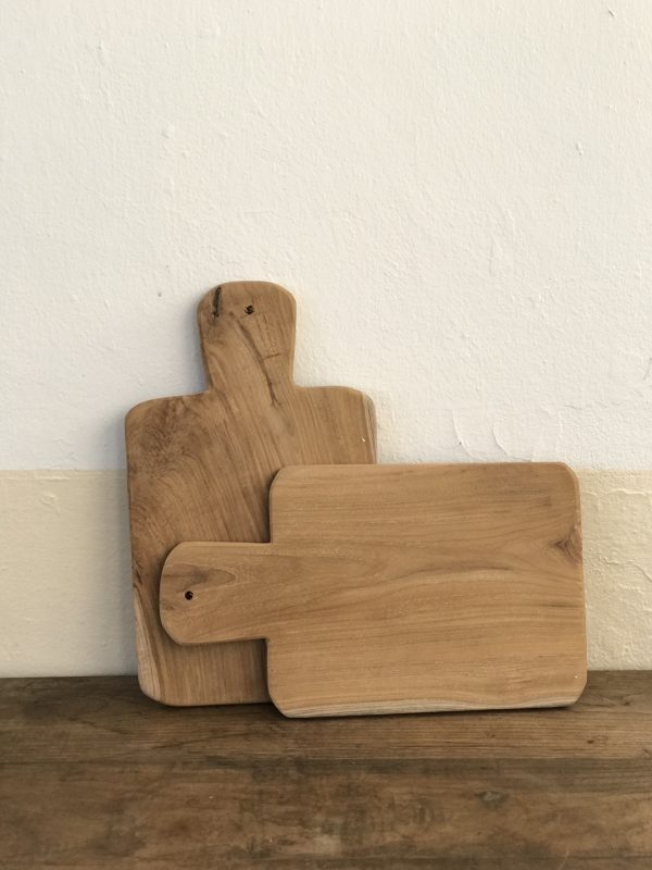 Tabla Raíz de madera natural cuadrada